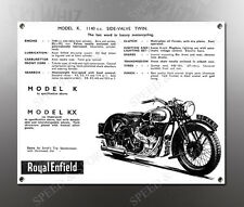 VINTAGE ROYAL ENFIELD 1938 MODEL K 1140cc IMAGE BANNER NOS IMAGE REPRODUCTION