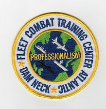 Fleet Combat Training Dam Neck BC Patch Cat No C6671
