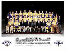 1985-86 LOS ANGELES TEAMS NHL HOCKEY TEAM PHOTO - THE FABULOUS FORUM - DIONNE