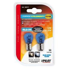 Lampada BIANCA 2 filamenti 12V - P21/5W 58317 Lampada diurna P21 5 W