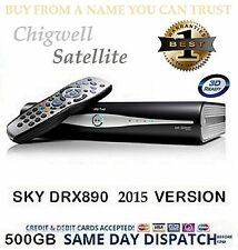 Drx890 500 Gb Sky Plus Hd Caja utilizada Remoto + conduce
