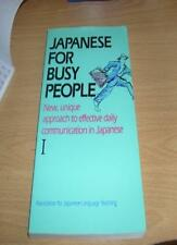 Japanese for Busy People: 1 By The Association for Japanese Language Teaching
