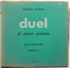 Disque MURAIL Gérard Duel et autres poèmes Illustrations de Carrega