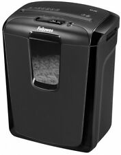 Fellowes Heavy duty Powershreder Cross-Cut Paper Cutter Shredder - Black New Pro