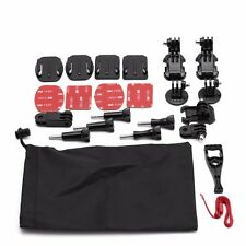 15 in 1 Grab Bag of Mounts Kit Bundle Accessory f Gopro HD Hero 4 3+3 2 1 SJ4000