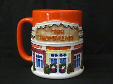 The Home Depot Coffee Mug Cup 2013 Mr. Christmas Theme Excellent Condition