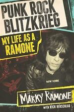 NEW Punk Rock Blitzkrieg : My Life The Ramones by Marky Autobiography Biography