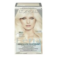 L'Oreal Feria Absolute Platinums Hair Color Extreme Platinum Extreme Platinum