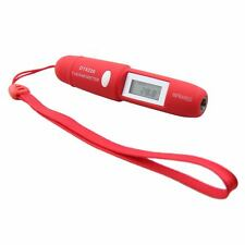 Mini Pen Style Non-Contact Infrared IR Digital LCD Thermometer W/ Battery DT8220