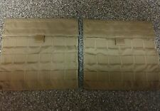 US Army USMC USGI Set of 2 Side Carrier pockets in Coyote Brown made by Eagle