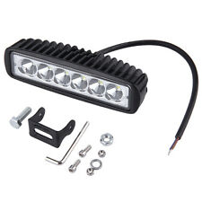 12V 18W 6LED Headlight Spot Work Lamp Light For Car SUV Trailer Off Road QT