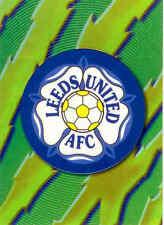 1999 Merlin Premier Gold Soccer Team Logo Foil Card A9 Leeds United