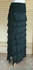 Gorgeous to wear long lagenlook slik layered skirt / dress RRP £ 49