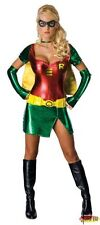 Halloween Super Hero Costume Superwoman Fancy Dress Green&Red PVC Party Outfits
