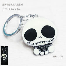 New The Nightmare Before Christmas Jack Face Key chain keyring Charm Pendant