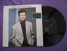 """Rick Astley - Take Me To Your Heart. 12"""" Vinyl single (12s857)"""