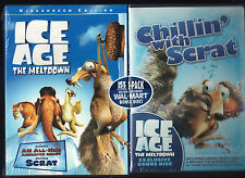 Ice Age The Meltdown & Bonus Disc Chillin' With Scrat, Wal-Mart Exclusive, NEW