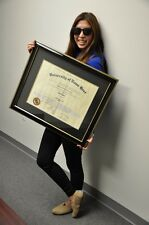 High End Graduation Diploma Frames!! (adjustable for many schools/universities)