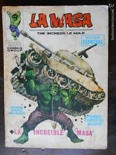 LA MASA THE INCREDIBLE HULK - Nº 1 - VERTICE - LEER DESCRIPCION (K2) -