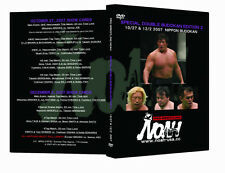 Official Pro Wrestling Noah Special Double Budokan Edition 2 Event DVD