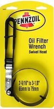 Pennzoil Adjustable Swivel Head Wrench Oil Change Filter Remover Tool Car-Truck