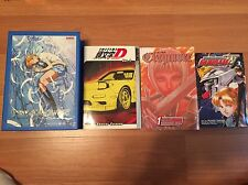 Manga & Anime Lot (Claymore, Initial D, Escaflowne Movie)