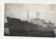 Merchant Ship Hong Kong Plain Back Shipping Photo Card 673a