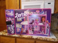 Vintage Barbie Doll Glamour Home House Furnished by Mattel With Box