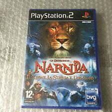 VINTAGE# PS2 PLAYSTATION CRONACHE DI NARNIA  LEONE STREGA# PAL SEALED SIGILLATO