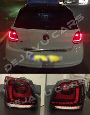 OEM VW Polo 6R 6C FULL LED Rückleuchten kirschrot 2009-2015 FULL LED Tail lights
