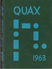 1963 DRAKE UNIVERSITY - ANNUAL YEARBOOK - QUAX - IOWA