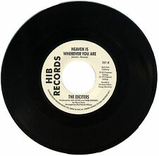 "EXCITERS  ""HEAVEN IS WHEREVER YOU ARE c/w REACHING FOR THE BEST""  MECCA  LISTEN!"