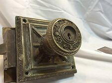 Antique Brass Door knob / plate / mechanism set Unknown Building Doorknob