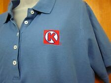 CIRCLE K Convenience Store women's XL polo shirt embroidery logo