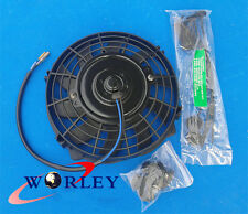 "7 inch electric universal fan with mounting kit cooling radiator 7"" 12V"