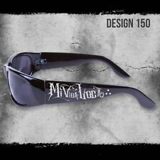 MI VIDA LOCA CITY LOCS SHADES BLACK SUNGLASSES CHOPPERS CHICANO RAP NWT