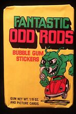 1973 Donruss Fantastic Odd Rods Wax Pack UNOPENED  VW Bug Stickers & Gum