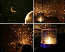 LED Cosmos Star Master Sky Starry Blue Night Light Lamp Projector Space System