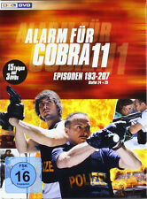 § 3 DVDs * ALARM FÜR COBRA 11 - STAFFEL 24 + 25 # NEU OVP