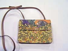 Icon crossbody purse with flower pickers