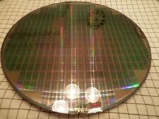 SILICON WAFER - Fully Designed Test Wafers      200mm od - Lot CCXV-a