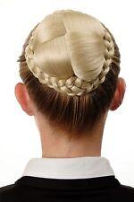 Dutt Postiche cher tressé Chignon Costume Blond Blond clair N796-88