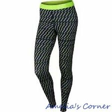 Women's Nike Pro Core Bolt Print Compression Tights 684665-010 Size M