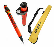 "AdirPro Mini (1.28"") Stakeout Orange Prism Pole, Surveying, Topcon, Sokkia,Leica"