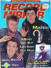 RECORD MIRROR 6/8/83 - MADNESS - BELLE STARS - DIANA ROSS