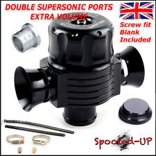 25MM DUAL SUPERSONIC TURBO BOV DIVERTER RECIRCULATING DUMP BLOW OFF VALVE