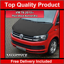 VW T6 TRANSPORTER 2015+ BONNET BRA TOP QUALITY / FIT PROTECTOR COVER STONE GUARD