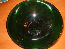 """Anchor Hocking """"Forest Green"""" 10"""" Bowl"""