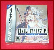 Final Fantasy IV Advance for the Nintendo Game Boy Advance System NEW SEALED