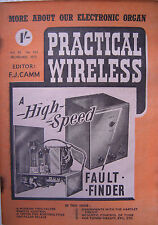 PRACTICAL WIRELESS - November 1952 - A High Speed Fault Finder - Vintage Mag